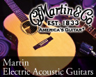 Martin Electric Acoustic Guitars